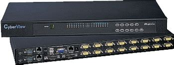 Hughes Kvm Switch 16 Port kvm switches serverrackoptions