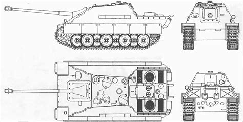 blueprint drawing free jagdpanther blueprint free blueprint for 3d