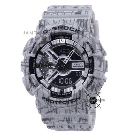 Jam Tangan Gshock Limited harga sarap jam tangan g shock ga110sl 8a grey slash