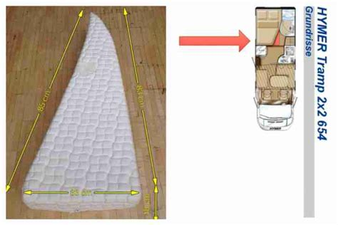 matratze wohnmobil matratzenkeil zur verbreiterung der matratze wohnwagen