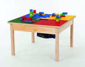 lego compatible heavy duty wood block play table