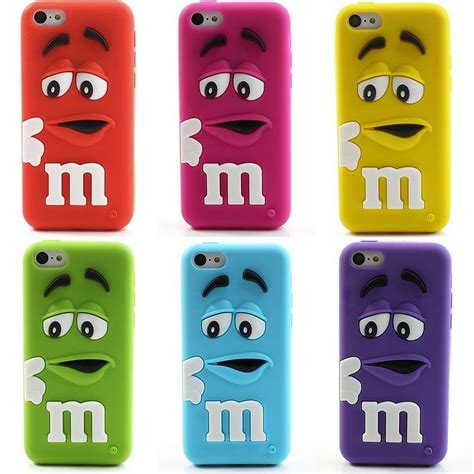 3d soft silicone cases for iphone5c m m s bean shaped smell cool iphone