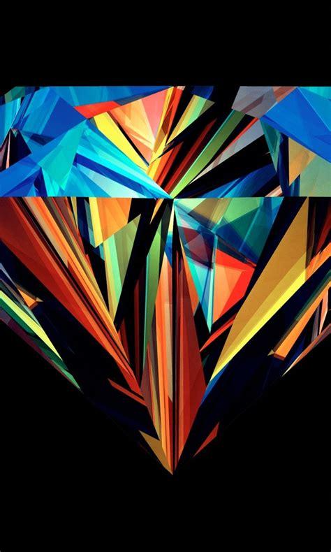 wallpaper of colorful diamonds 768x1280 coloured diamond lumia 920 wallpaper