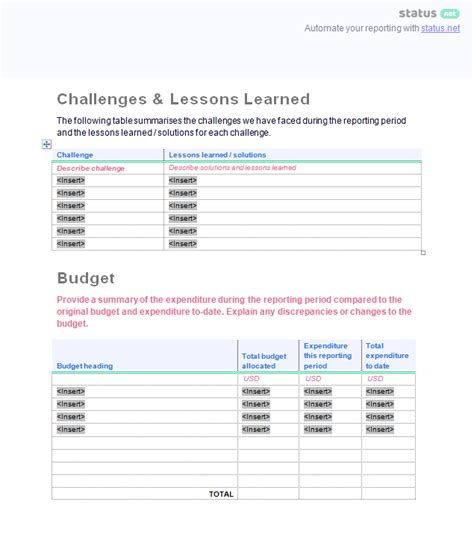 prince2 lessons learned report template lessons learnt report template image collections templates design ideas