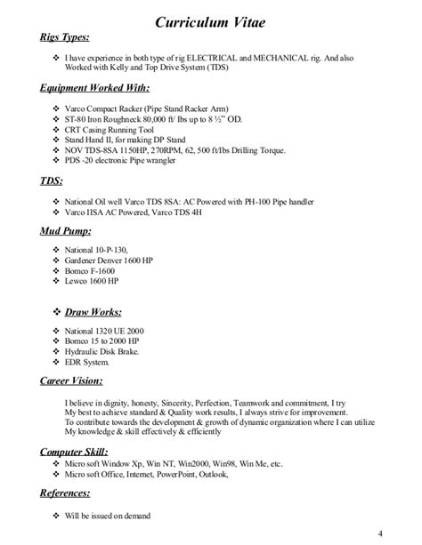 Sle Resume For Rig Electrician Assistant Rig Electrician Resume 28 Images Certified Nursing Assistant Resume Objective
