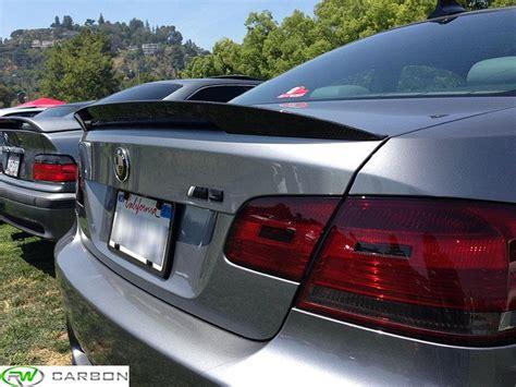 bmw 335i spoiler bmw e92 carbon fiber performance style trunk spoiler for
