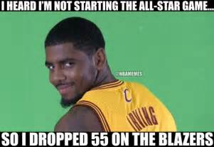 Kyrie Irving Memes - kyrie irving drops 55 on portland