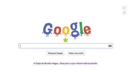 doodle independência do brasil doodle da copa do mundo 2014 deixa a cara do