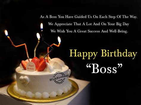 We Wish You A Happy Birthday Birthday Wishes For Boss Birthday Images Pictures