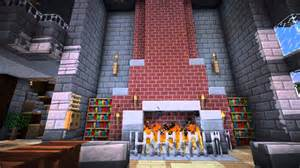 minecraft furniture fireplace designs and ideas