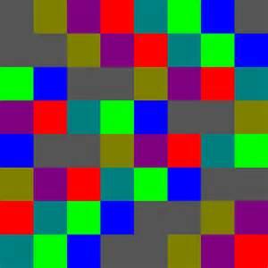 what does colour colour test images
