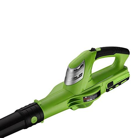 best cordless blowers for your backyard best partner leaf blower cordless 18v max lithium ion