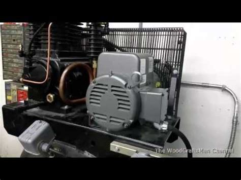 air compressor magnetic starter wiring