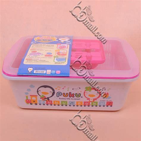 Puku Duo Container Rak Bayi puku nursery container rak botol perlengkapan bayi