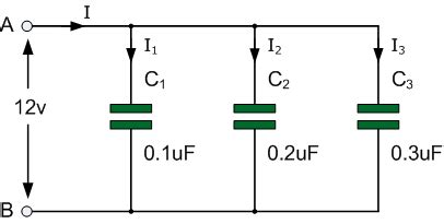 capacitors in circuits exles capacitors in parallel and parallel capacitor circuits
