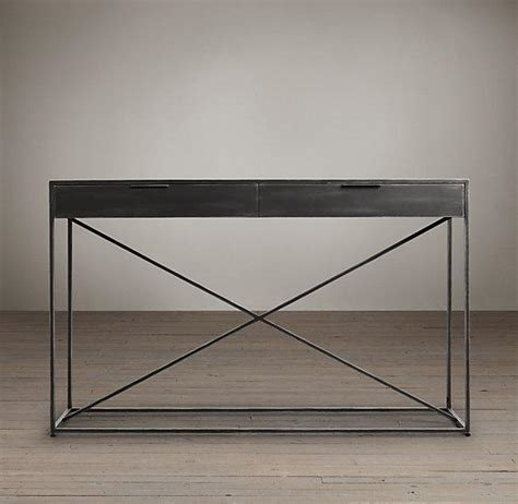 Restoration Hardware Console Table Gramercy Mirrored Console I Restoration Hardware