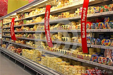 Cheese Di Supermarket grocery store cheese shelves editorial image image 34358100