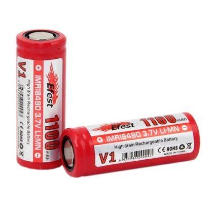 Efest Imr 18490 Li Mn Battery 1100mah 3 7v efest imr 18490 li mn battery 1100mah 3 7v with flat top 18490v1 jakartanotebook