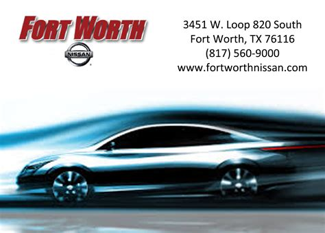 nissan of fort worth nissan of fort worth 3451 west loop 820 s fort worth tx
