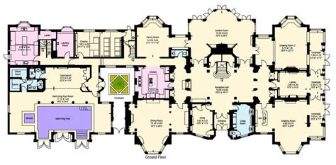 Mansion Layouts Floor Plans Deko 2015