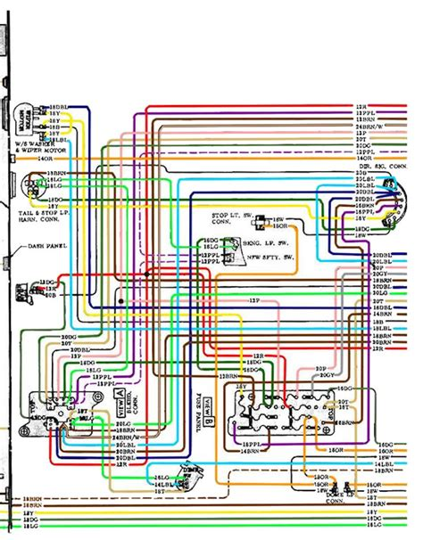 68 chevelle dash wiring diagram wiring diagrams wiring