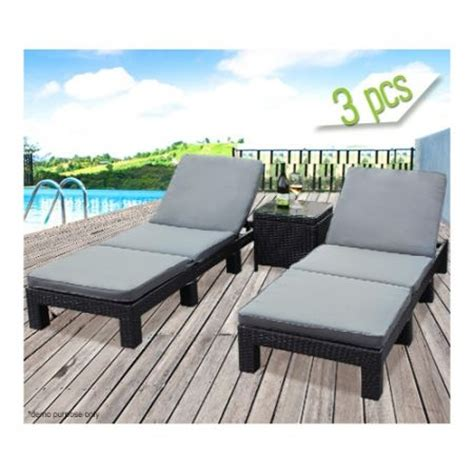 outdoor settee cushions set of 3 clearance 3 piece wicker chaise outdoor lounge set grey cushions