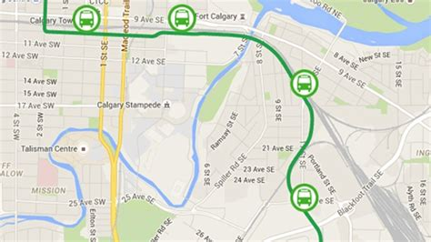 green line map calgary chooses tunnel for green line lrt ctv calgary news