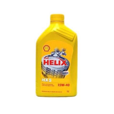 Shell Helix Hx5 15w 40 4 Liter motorov 233 oleje shell