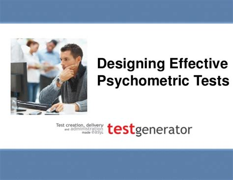 Psychometric Test Questions For Mba Students by Designing Effective Psychometric Tests