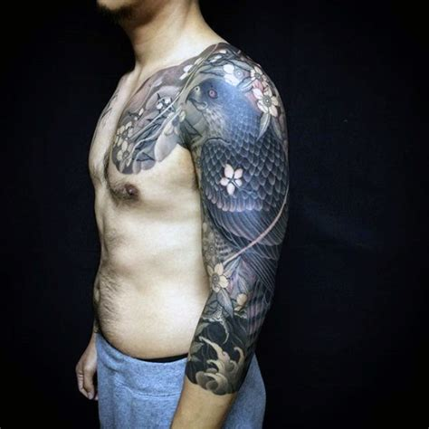70 exceptional shoulder tattoo designs mens craze