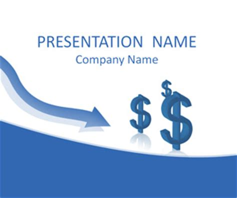 financial crisis powerpoint template templateswise com