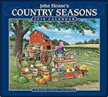 1449472443 john sloane s country seasons deluxe john sloane s country seasons 2016 deluxe wall calendar