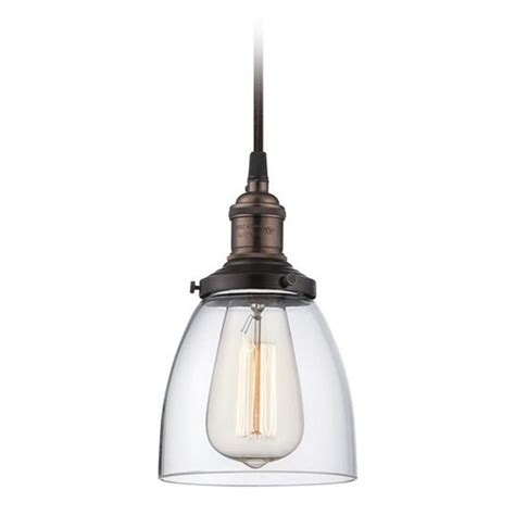 Wholesale Pendant Lighting Pendant With Clear Glass In Bronze Vintage Light Bulb