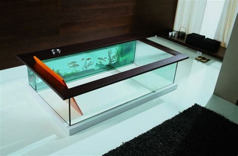 a fish in the bathtub super bowl update no room for an aquarium think again 20 unusual places in your