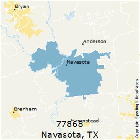 navasota texas map best places to live in navasota zip 77868 texas