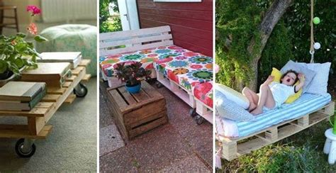 sitzecke aus paletten selber bauen garten sofa selber