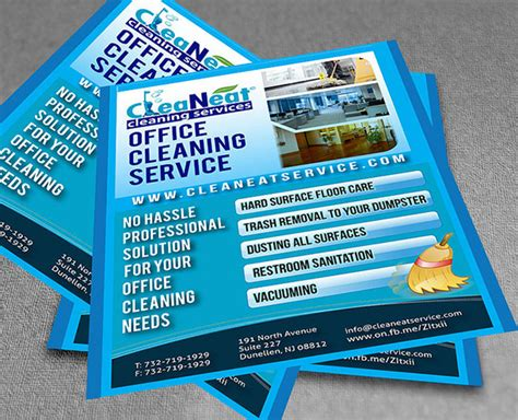 commercial cleaning flyer templates commercial cleaning flyers exles template