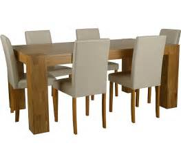 Table L Argos Uk Buy Collection Indiana 180cm Oak Table 6 Chairs
