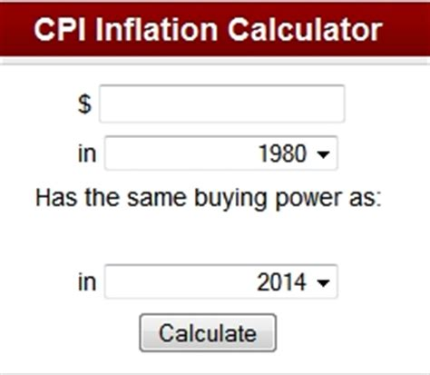 how do i calculate the inflation rate? | inflationdata.com