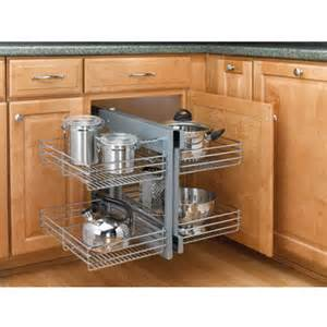 blind kitchen cabinet rev a shelf kitchen blind corner cabinet optimizer
