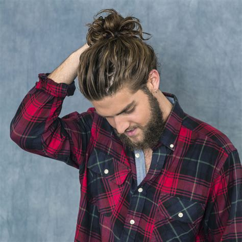 hair cut for inbetween stage man growing how to grow a man bun 6 steps to rocking the hairdo of