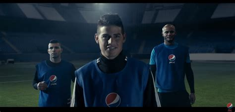pepsi max launches star studded football ad campaign  coincide   emoji marketing  drum