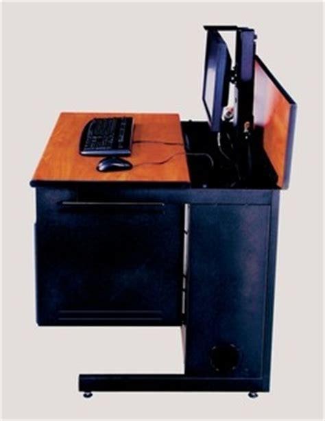 hidden computer monitor desk hidden monitor desk desk hidden monitor when not in use