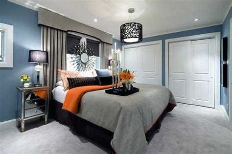 grey and orange bedroom ideas blue and gray decor best blue gray paint color inspiring