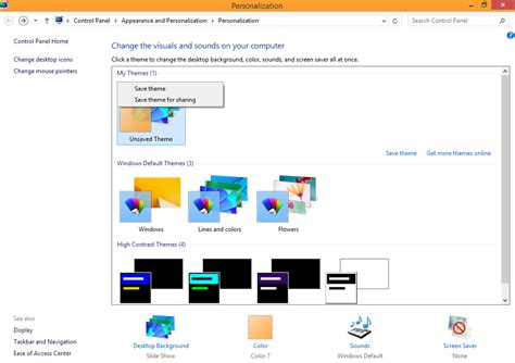 theme editor windows 8 1 windows 8 1 personalization windows 8 1 troubleshooting