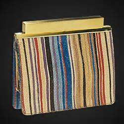 Other Designers Sang A Pleated Python Evening Clutch by Featured Designer Sang A Via Hauteness The Handbag