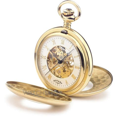 rotary pocket skeleton mechanical watch mp00713 01