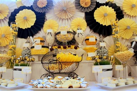 Bee Baby Shower Ideas by What Will It Bee Via Blossom