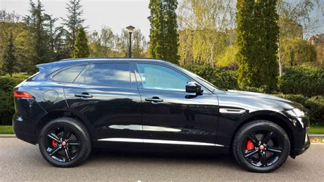 jaguar f pace blacked out jaguar f pace 3 0 300ps tdv6 s 5dr awd auto panoramic