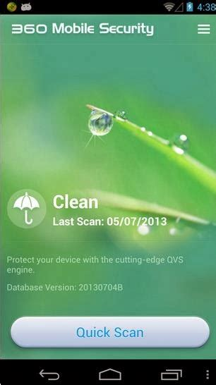 360 app for android 360 mobile security antivirus free app for android find android appz